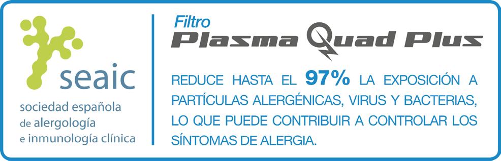 Filtro de aire Plasma Quad Plus
