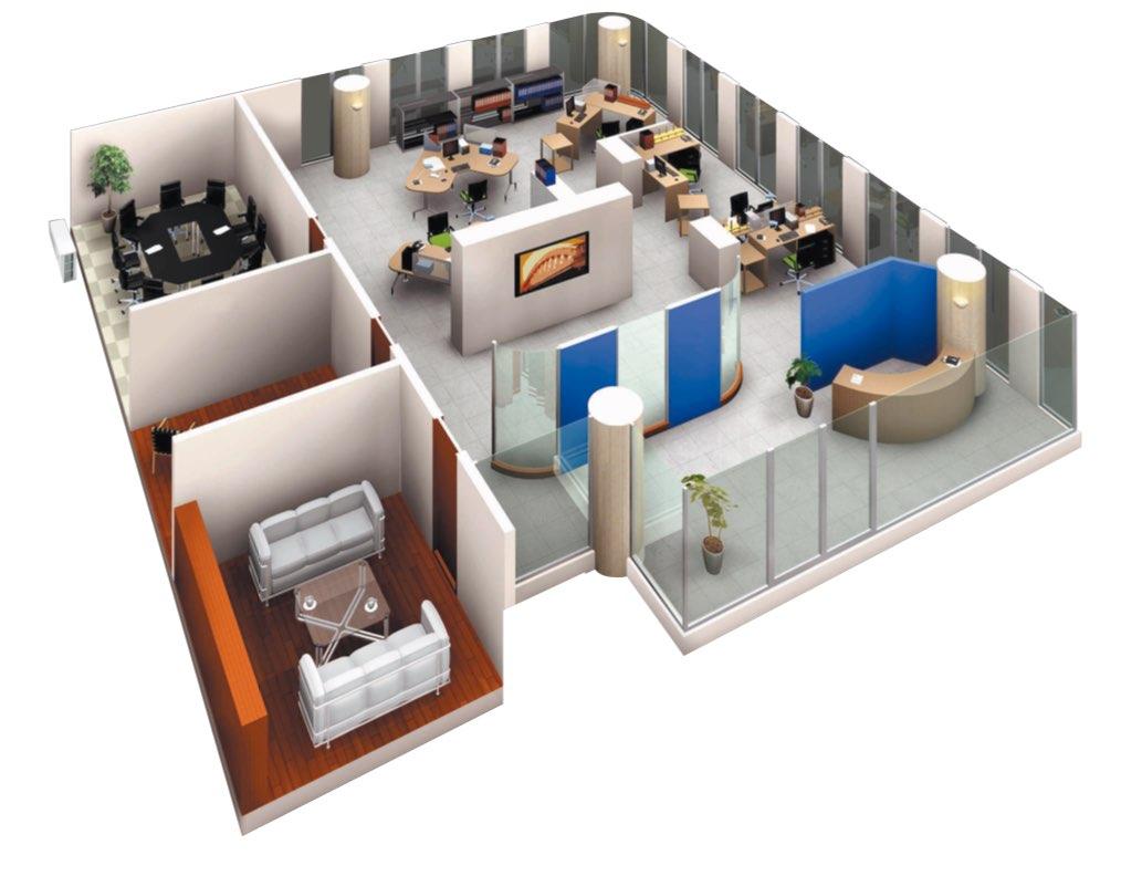 multisplit para pequeñas oficinas