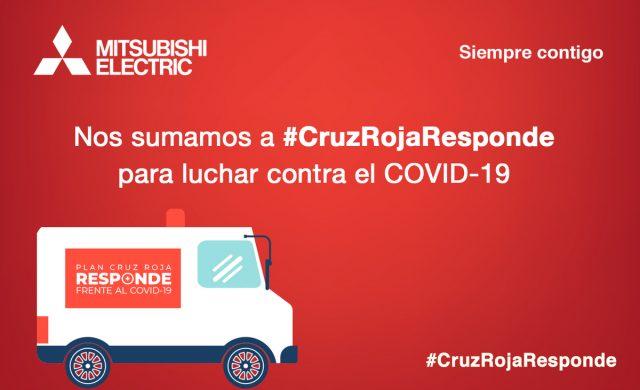 Mitsubishi Electric se suma al plan 'Cruz Roja Responde' frente al COVID-19