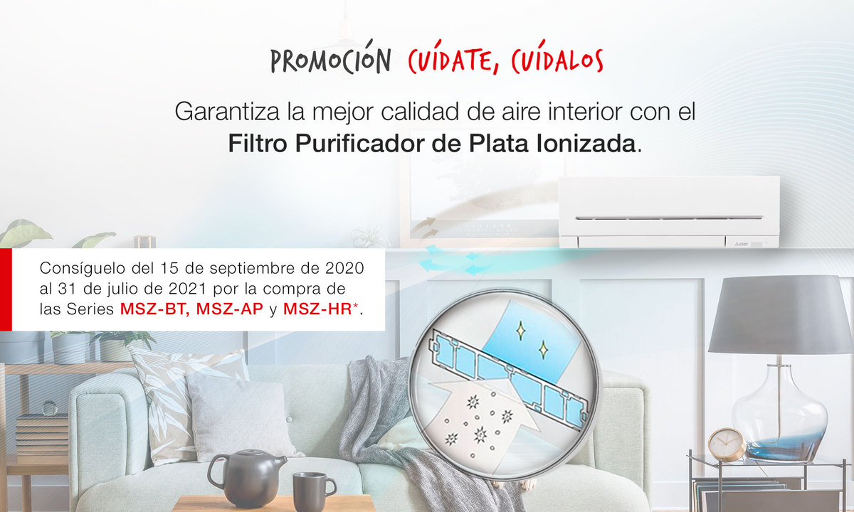 filtro purificador Mitsubishi